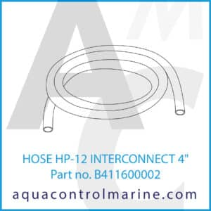 HOSE HP-12 INTERCONNECT 4inch