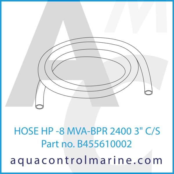 HOSE HP -8 MVA-BPR 2400 3inch C_S