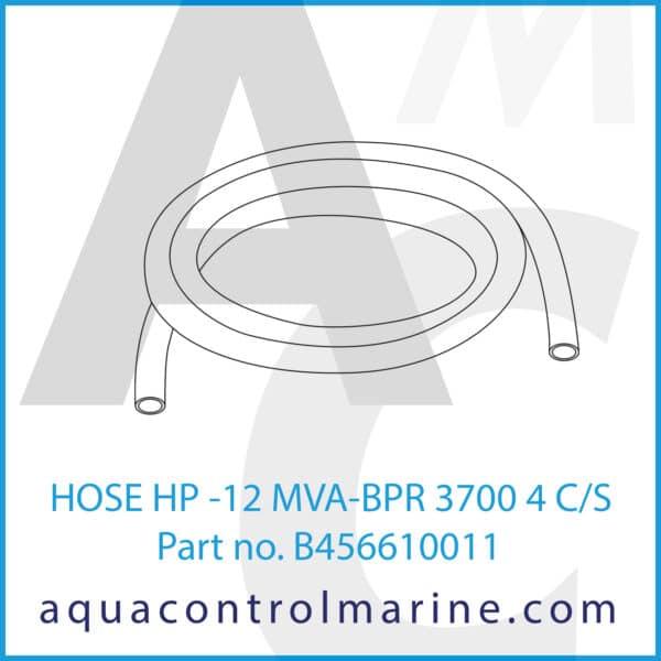 HOSE HP -12 MVA-BPR 3700 4 C_S