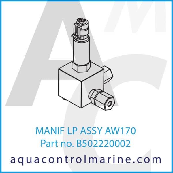 MANIF LP ASSY AW170