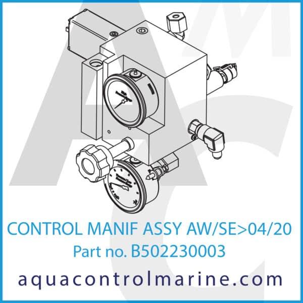 CONTROL MANIF ASSY AW_SE_04_20