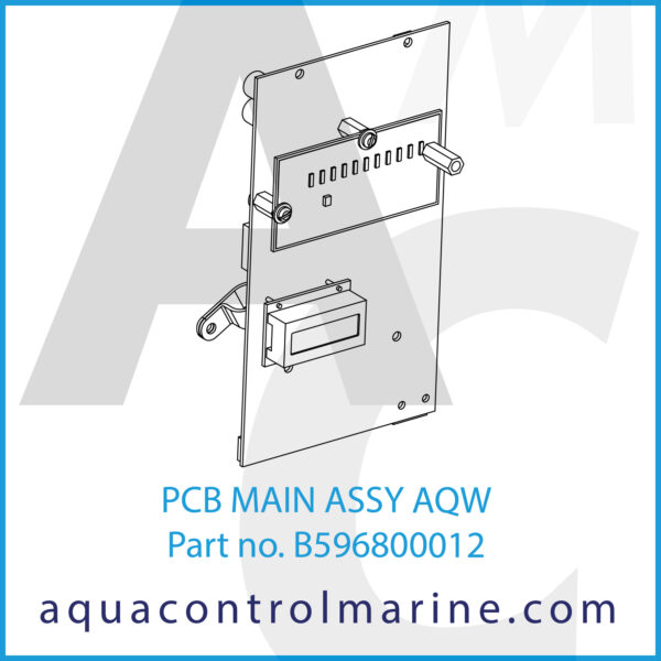 PCB MAIN ASSY AQW