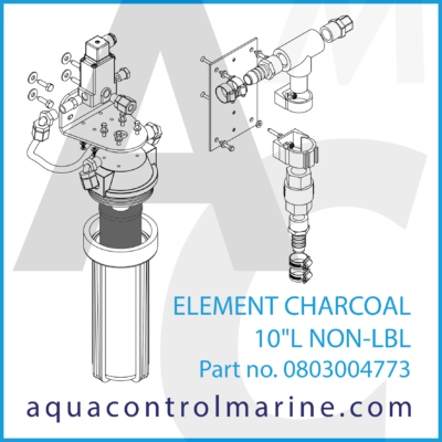 ELEMENT CHARCOAL 10L NON-LBL