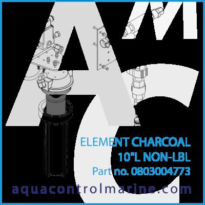 ELEMENT CHARCOAL 10L NON-LBL