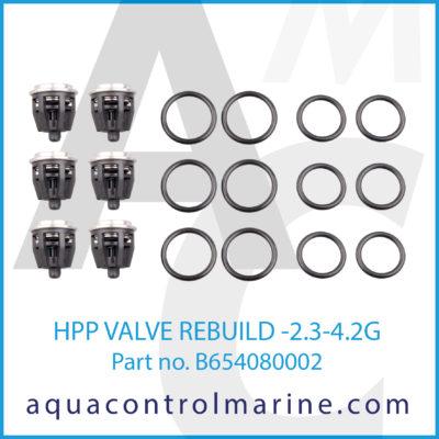HPP VALVE REBUILD -2.3-4.2G
