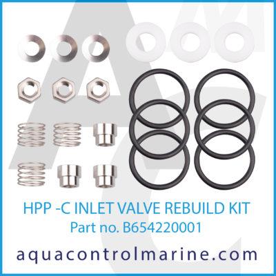 HPP -C INLET VALVE REBUILD KIT