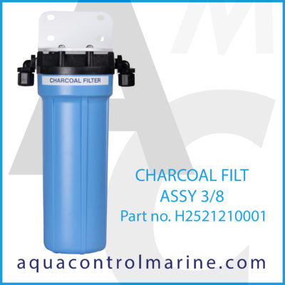 CHARCOAL FILTER ASSY 3/8