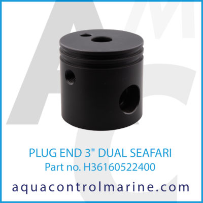 "PLUG END 3"" DUAL SEAFARI"