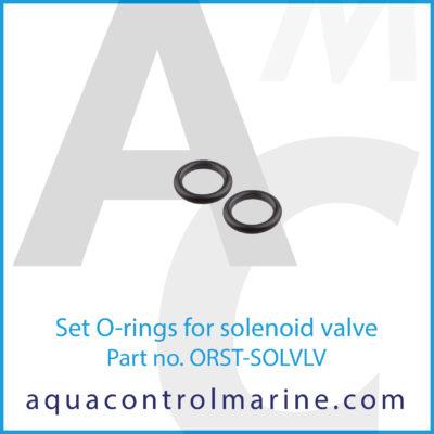 Set O-rings for solenoid valve